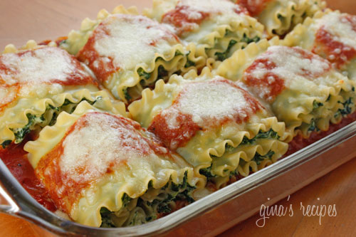 Spinach-lasagna-rolls